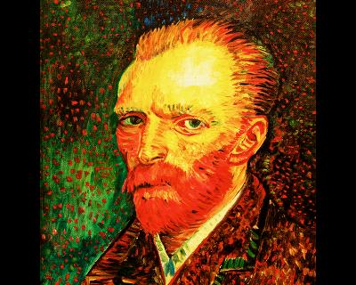 Autoretrato Van Gogh
